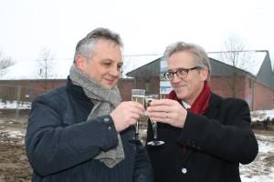Rainer Thieken Geschäftsführer Voba Schermbeck und Rainer Schwarz