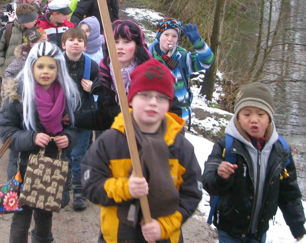 Kinderkarneval Schermbeck Schule