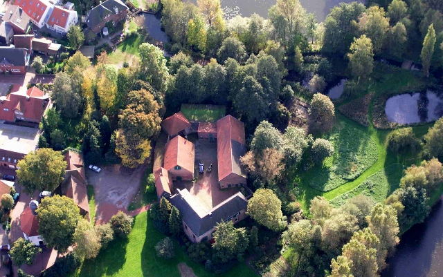 Burg Schermbeck-Luftbild