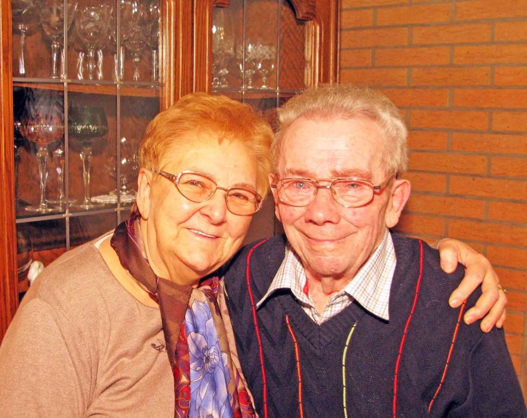 Hermine und Willi Korthauer feiern am 13. Februar ihre diamantene Hochzeit. Foto Bosse