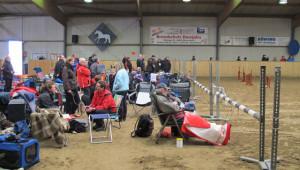 Wer nicht selbst starten musste, genoss das Turnier als Zuschauer. Foto Scheffler