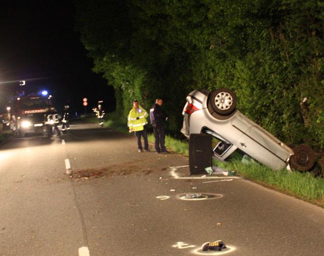 Unfall Erler Strasse Schermbeck 2013