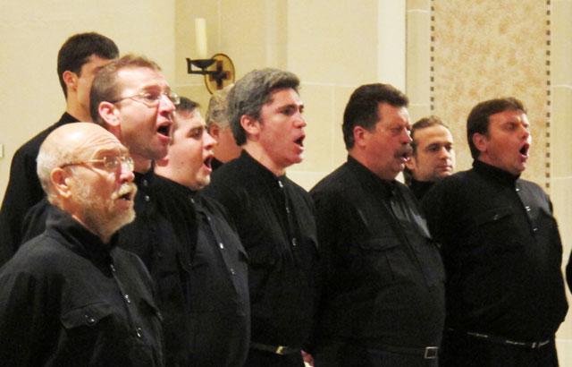 Jeder Sänger ein brillanter Solist. Foto Scheffler