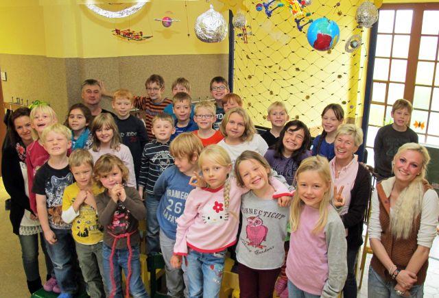 thema weltall kindergarten