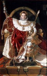 Die Herrschaft des französischen Kaisers Napoleon I. brachte in den Jahren 1806 bis 1813 den Schermbeckern mancherlei Drangsale. Repro: Scheffler