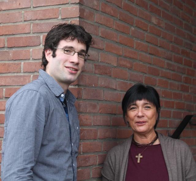 Daniel Renzel und Annette lland