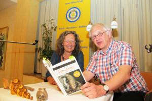 Renate Wirth und Thomas Hesse lesen am 5. Februar im Café Lühlerheide aus zwei ihrer Kriminalromane. Archivfoto Scheffler