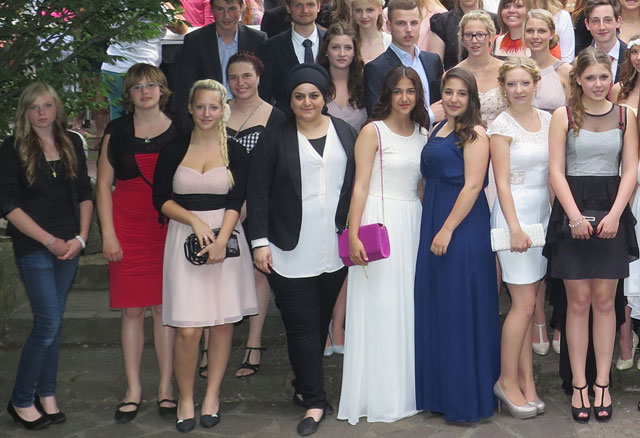 Abitur 2014 Schermbeck