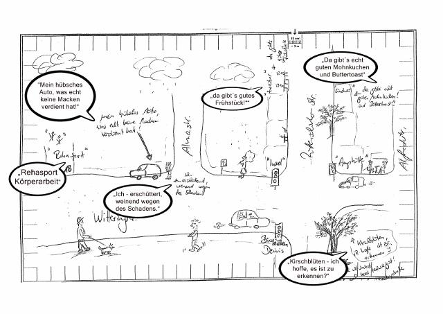Humorvolle Unfallskizze - Schermbeck Online
