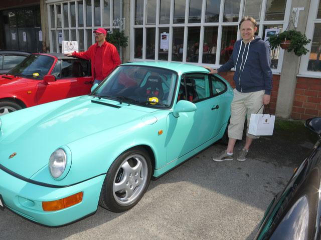 Das drittschönste Fahrzeug präsentierte der Frankfurter Bernhard Schwab