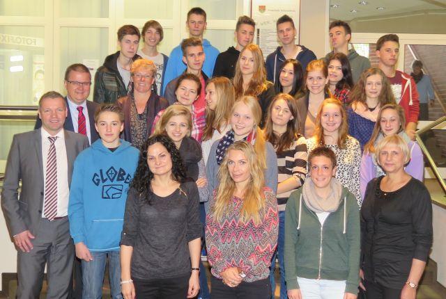 Austauschüler aus Polen in SChermbeck