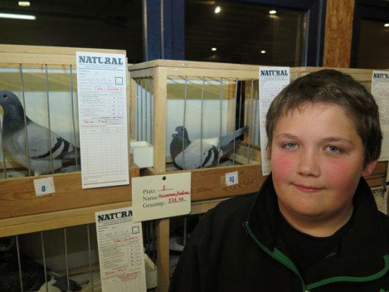 Der 14-jährige Andreas Hussmann belegte den 3. Platz. Foto: Helmut Scheffler