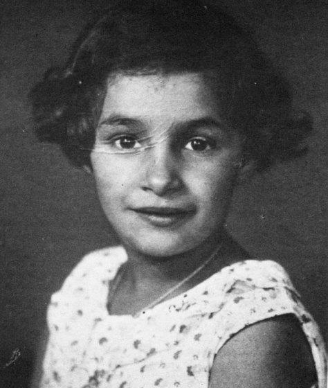 Die achtjährige Jüdin Marga Randall im Jahre 1938, dem Jahr der Reichspogromnacht. Repro Scheffler