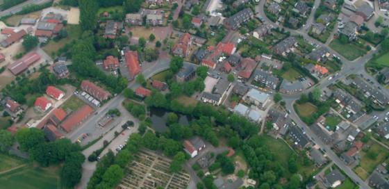 Gahlen, Luftbild