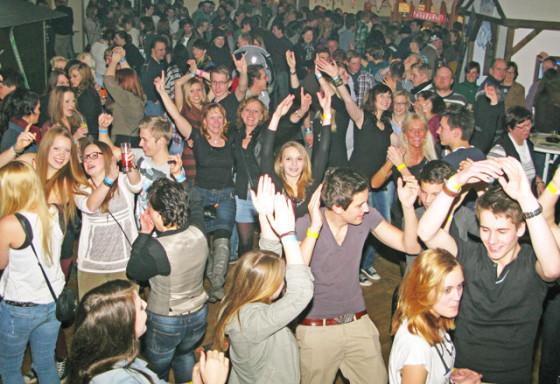 """Am 24. Januar startet zum siebten Male eine """"Après-Ski-Party"""" am Voshövel. Dort herrschte in den letzten Jahren immer ein großer Andrang. Archivfoto Scheffler"""