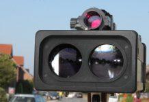 Radarkontrolle Polizei in Schermbeck