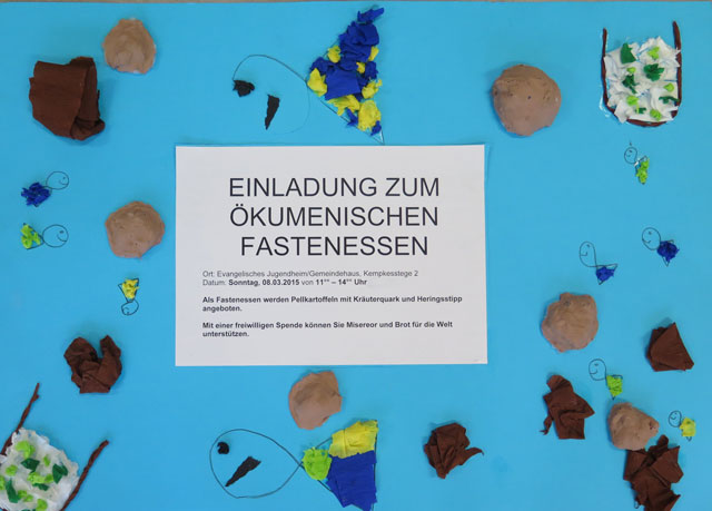 Schermbeck, Fastenessen