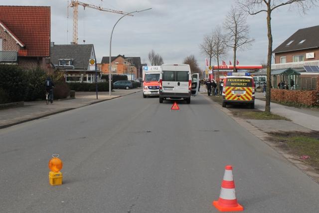 Unfall in Raesfeld Kind schwer verletzt