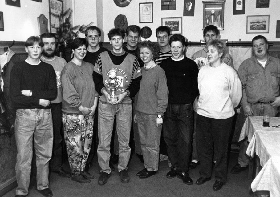 Dez 1990, Brichter Schützenjugend