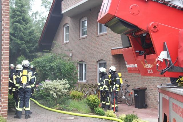 Einsatz Feuerwehr Schermbeck