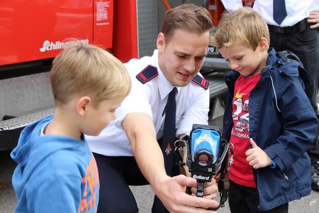 Brandschutztag der Freiwilligen Feuerwehr Schermbeck in Gahlen 2015
