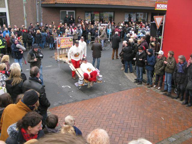 Schubkarrenrennen 2012