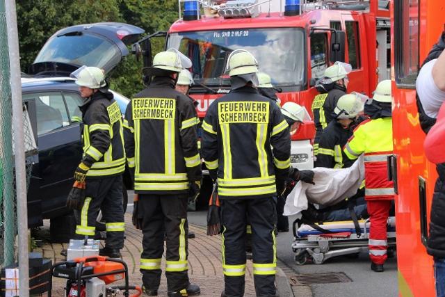 Unfall Schermbeck marellenkempe