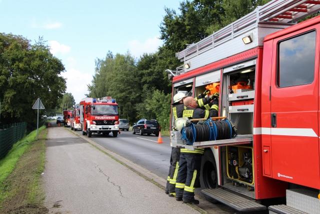 Verkehrsunfall Schermbeck Dorstener Strasse (4)