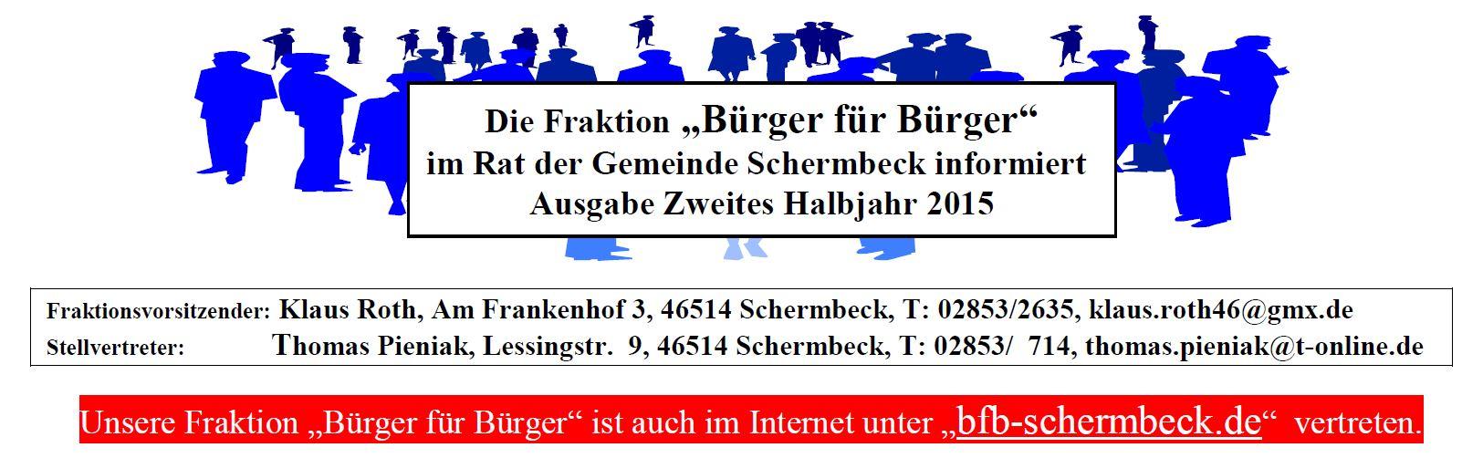 Info Blatt bfb