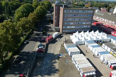 Unterkunft in der Trappstraße in Wesel