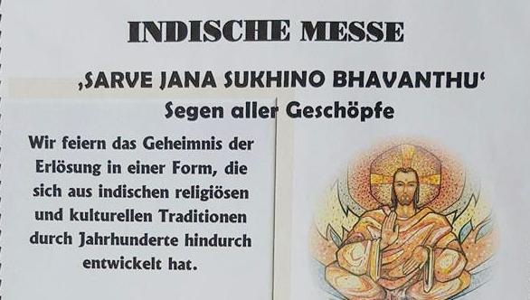 Indische Messe in St. Ludgerus Scshermbeck