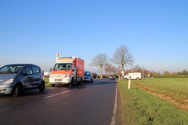 Unfall Blechschaden Gahlen Schermbeck Bestener str. Petra Bosse