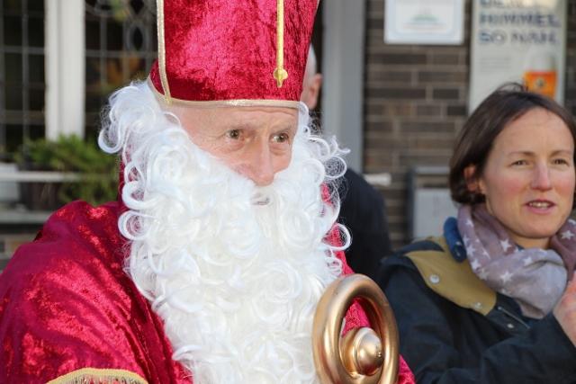 Der Nikolaus ließ sich auch blicken ...