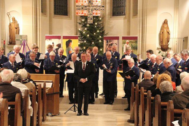 Konzert MGV Eintracht Schermbeck Ludgeruskirche (5)