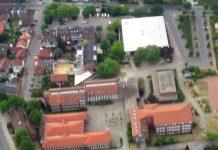 Luftbild Gesamtschule Schermbeck
