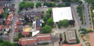 Gesamtschule Schermbeck, Luftbild