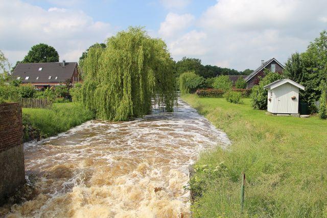 Reißender Strom - die Issel in Marienthal