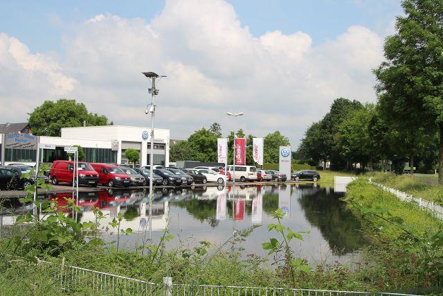 Hochwasser - Chaotische Verhältnisse in Hamminkeln und Umgebung