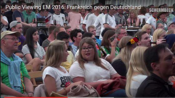 EM Public Viewing Kilian Schermbeck 2016
