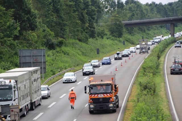 Tödlicher Unfall A31 Dorsten-Schermbeck (1)