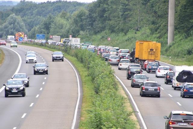 Tödlicher Unfall A31 Dorsten-Schermbeck (3)