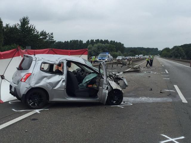 Tödlicher Unfall auf der A31 Dorsten-Schermbeck (2) (640x480)