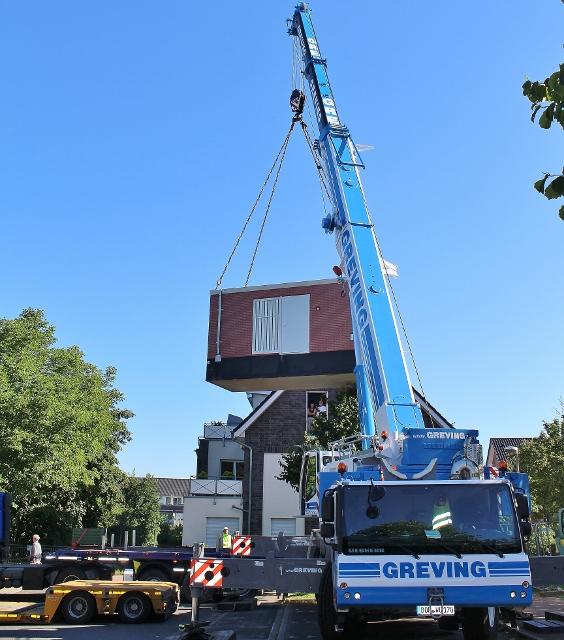 Rund 75000 euro Haus am Haken. Point of Presens wird in Schermbeck aufgestellt.