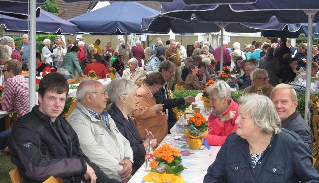 Am Nachmittag war der Andrang bei der 125-Jahrfeier besonders groß.