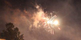Feuerwerk in Schermbeck