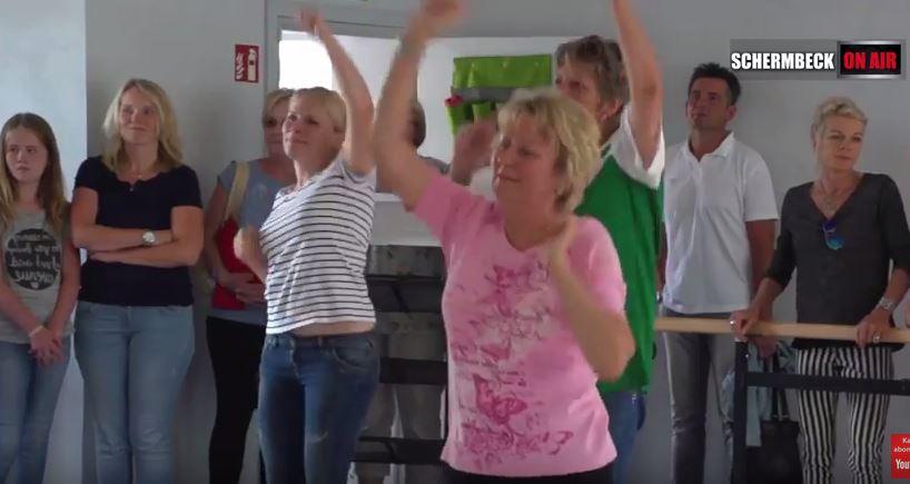 Tanzclub Grün weiß Schermbeck