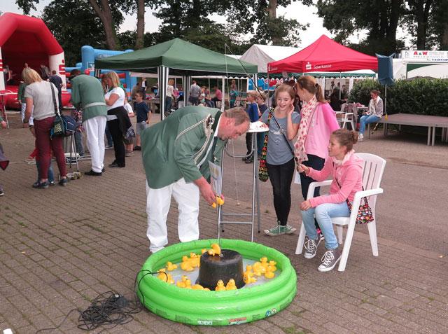 Wie im vergangenen Jahr wird für die Kinder auch diesmal ein sechsteiliger Spieleparcours angeboten. RN-Archivfoto Scheffler