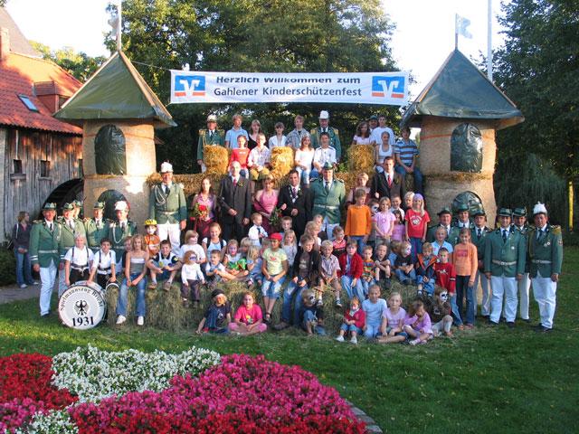 Kinderschützenfest in Gahlen vor 10 Jahren