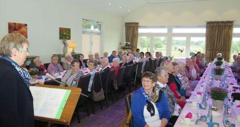 Im Landhaus Wortelkamp feierte die Drevenacker Frauenhilfe am Mittwoch ihr 110-jähriges Bestehen. Foto: Helmut Scheffler