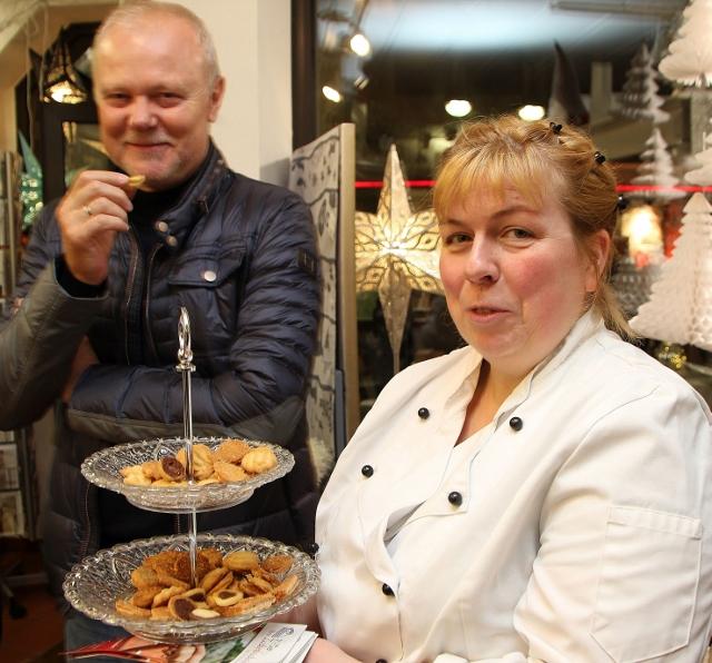 Süße Köstlichkeiten servierte dieSchermbecker Zuckerbäckerin Bianca Dickmann.